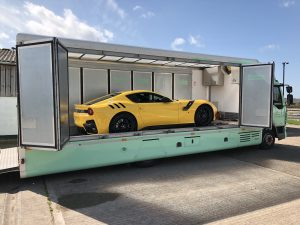 enclosed car transportation